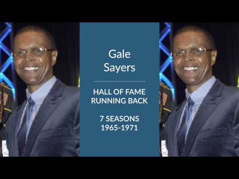 Gale Sayers: Hall of Fame Football Running Back and Punt Returner