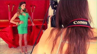 Elena Grimaldi - Shooting fotografico con Nima Benati