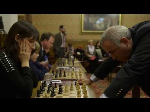 Garry Kasparov's House of Lords simultaneous chess challenge