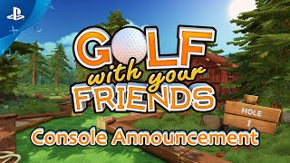 Golf With Your Friends - Launch Trailer | PS4