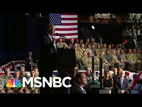 Thumbnail: As President, Trump Listens To Generals On Afghanistan | Morning Joe | MSNBC