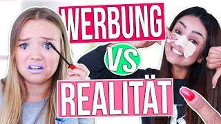 FIESE LÜGEN AUS DER WERBUNG! - Werbung vs Realität   Julia Beautx
