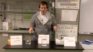 Termperature versus Heat: Practical example of the Definitions