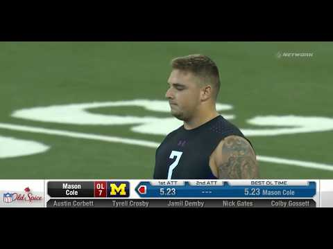 2018 NFL Scouting Combine Day 1: OL, RB, ST