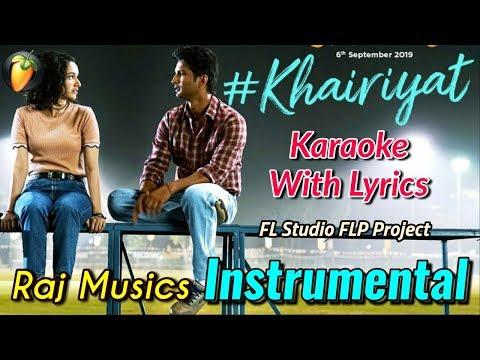 khairiyat-instrumental- -karaoke- -arijit-singh- -chhichhore- -shraddha,-sushant- -raj-musics- -2019