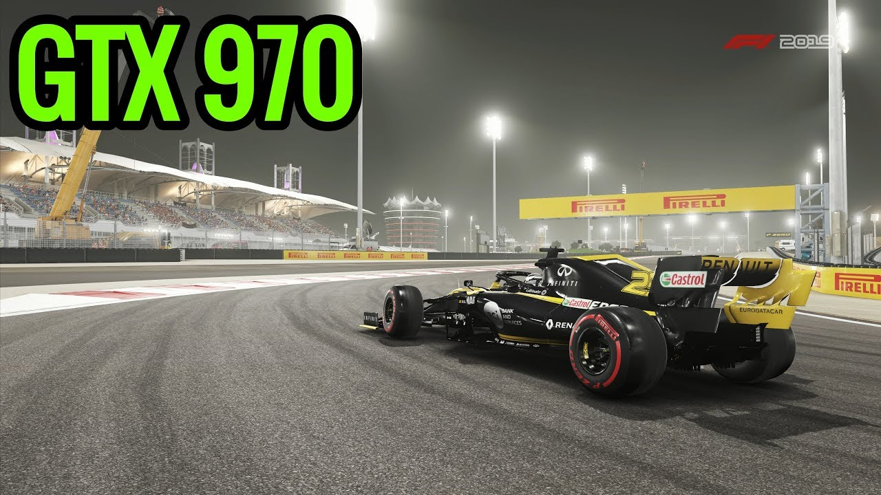 F1 2019 - GTX 970 - Pc Gameplay