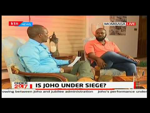 Hassan Joho explains where his conflict with the government began