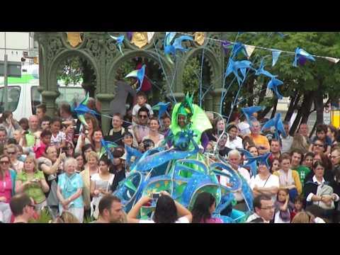 Multi-culture and music festival in Dun Laogharie, Ireland.