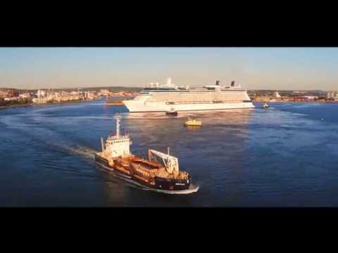 Port of Newcastle Cruise Terminal Announcement