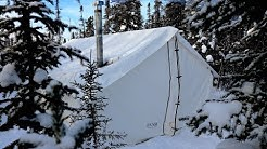 -34c Cold, Frigid and Freezing Wall Tent!!