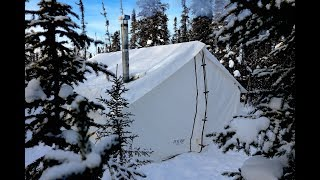 -34c Cold, Frigid and Freezing Wall Tent...