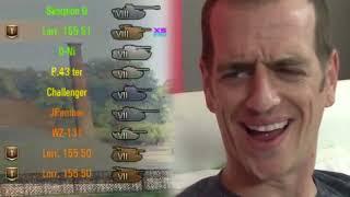 World of Tanks Приколы #130 ( Хэйтеры👿 Нашли Меня ...