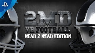 2md: Vr Football Head 2 Head Edition   Multiplayer Gameplay | Ps Vr