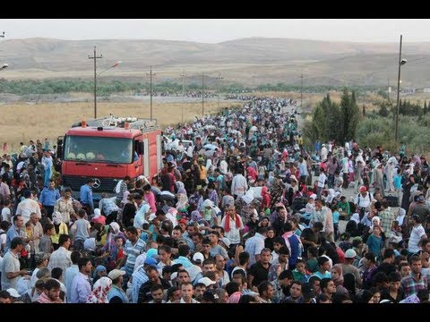 Iraq: 30,000 Syrian Refugees Cross Border in Six Days