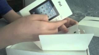new apple Ipad 3rd gen (16gb wifi white) unboxing!
