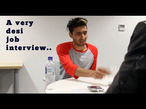 A very desi job interview