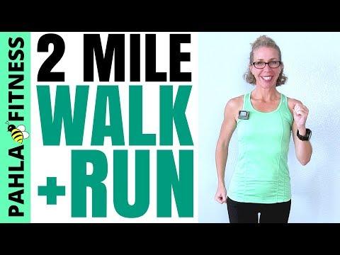 30 Minute 2+ Miles INDOOR WALK + RUN Workout | Tracking PROGRESS Toward Your GOALS
