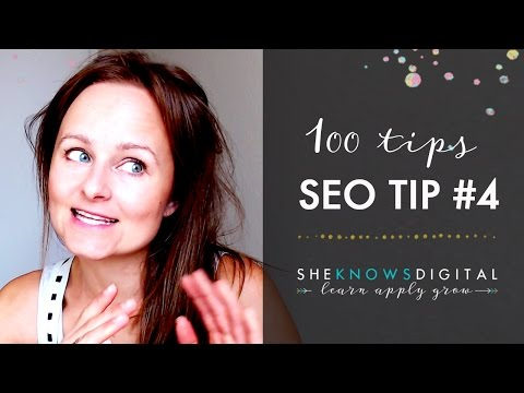 Top 100 SEO Tips. Tip 4. Always conduct a keyword research before writing an article or a blog post.
