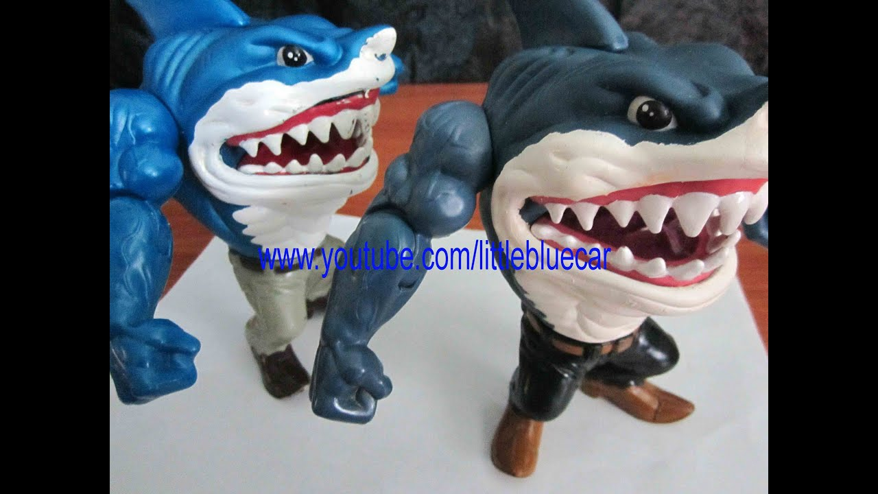 Street Sharks Toys : Street sharks toy original ripster series and
