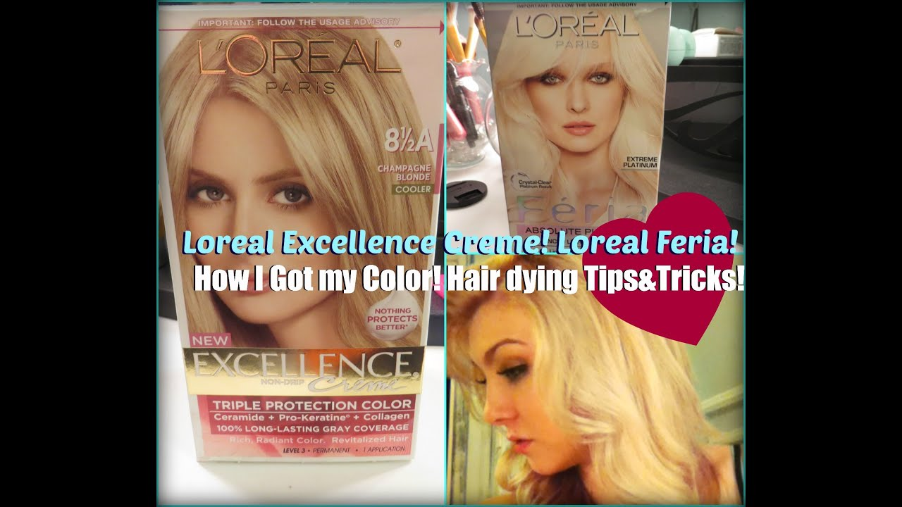 Loreal Excellence Creme Dye Reviewhow I Got My Colortipstricks