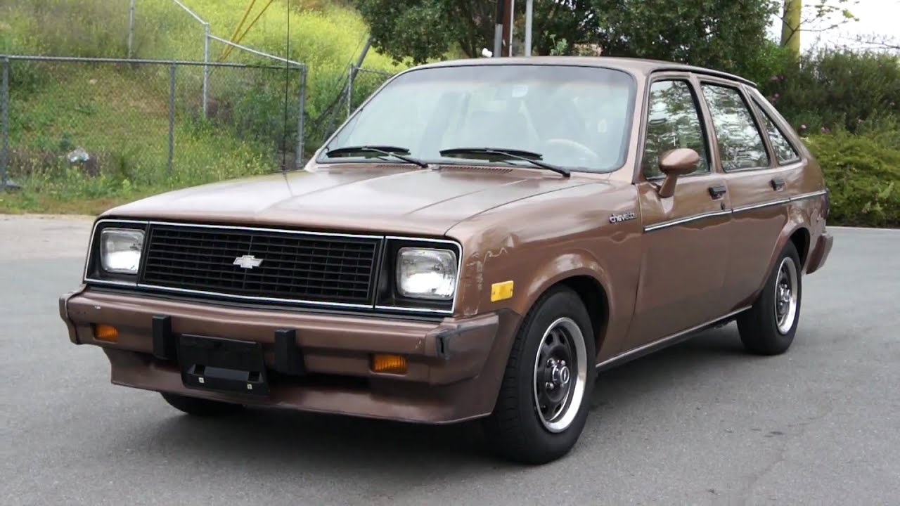 85 chevrolet chevette 1 owner 23k orig miles 4 cyl chevy youtube. Black Bedroom Furniture Sets. Home Design Ideas
