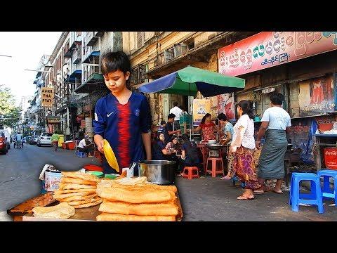 A walk down Merchant Road in Downtown Yangon