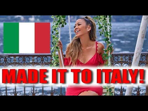 First Time In Italy & Guess Fashion Show! ft. Amanda Cerny, Katja Gleison and Don Benjamin | Liane V