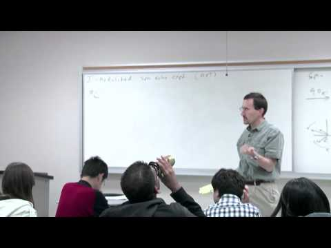 Lecture 20. Understanding Complex Pulse Sequences
