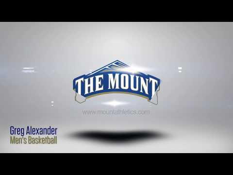 Mount St. Mary's 2017-18 Men's Basketball Player Introductions: Greg Alexander