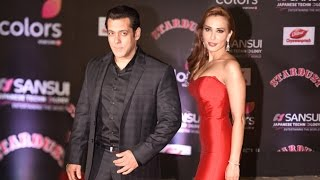 Salman Khan Brings Girlfriend Lulia Vantur To Colors Stardust Awards 2017 Red Carpet