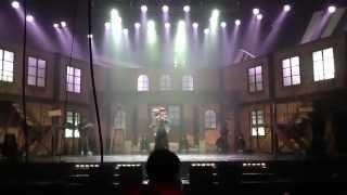 [120325] B1A4 Jinyoung Fall during rehearsal