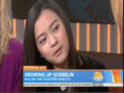Growing Up Gosselin Twin Daughters Speak Very Akward Interview