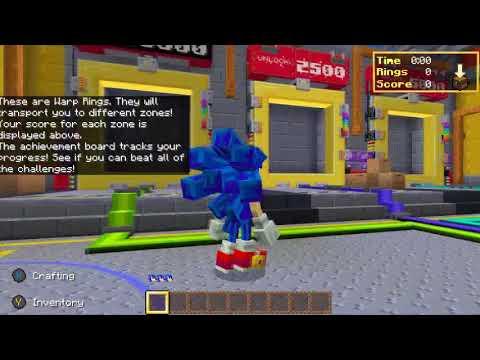 Minecraft Bedrock: Sonic 30th Anniversary DLC |