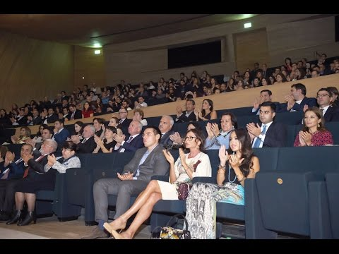 """A premiere of the movie """"Ali and Nino"""" takes place at the Heydar Aliyev Center"""