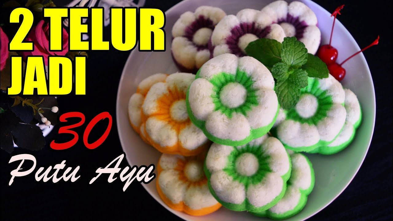 Putu Ayu Cake Coconut Steam Cake