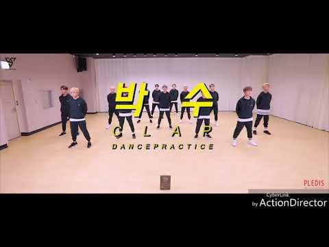 Clap Dance Practice - SEVENTEEN (1.5X Faster Ver)
