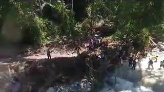 Drones sobrevuelan Choroní para buscar sobrevivientes