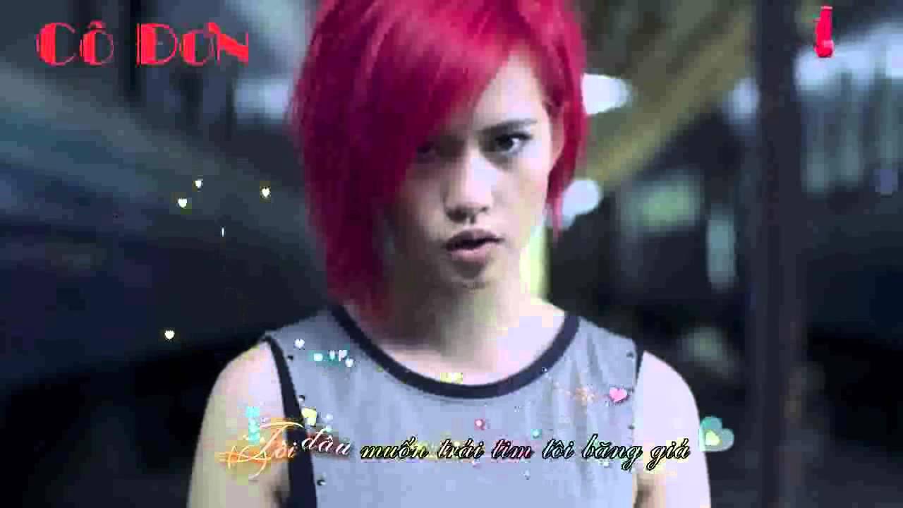 Đơn Côi -Trương Quỳnh Anh [Video HD Fanmade Lyric] ♥♪ *¨¨♫*•♪ღ♪