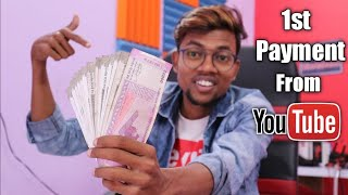 My First Payment From YouTube | Kitna Mila ?