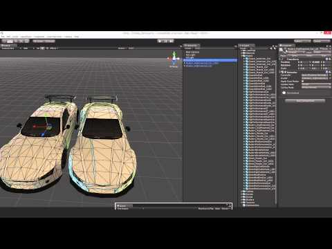 how to make a controllable car from unity standard asset