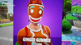 Fortnite Gingerbread Skins ❤❤❤