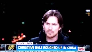 Christian Bale is forcibly refused a meeting with Chinese activist Chen Guangcheng