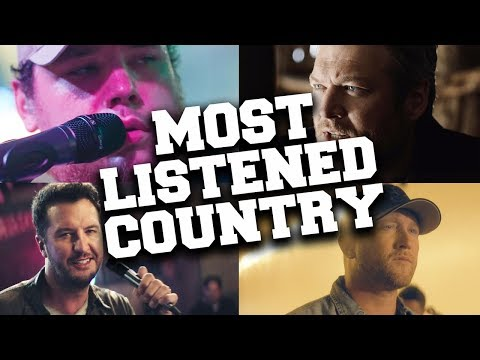 Top 100 Most Listened Country Songs in September 2019
