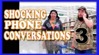 Shocking Phone Conversations 3 ~ Hidden Camera Prank ~ SNLstar
