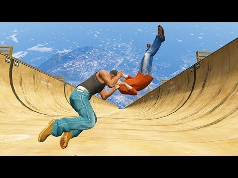 GTA 5 CRAZY Jumps/Falls Compilation #3 (Grand Theft Auto V Fails Funny Moments)