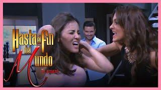 Hasta el fin del mundo: ¡Silvana golpea a Marisol! | Escena - C-180 y 181 | Tlnovelas