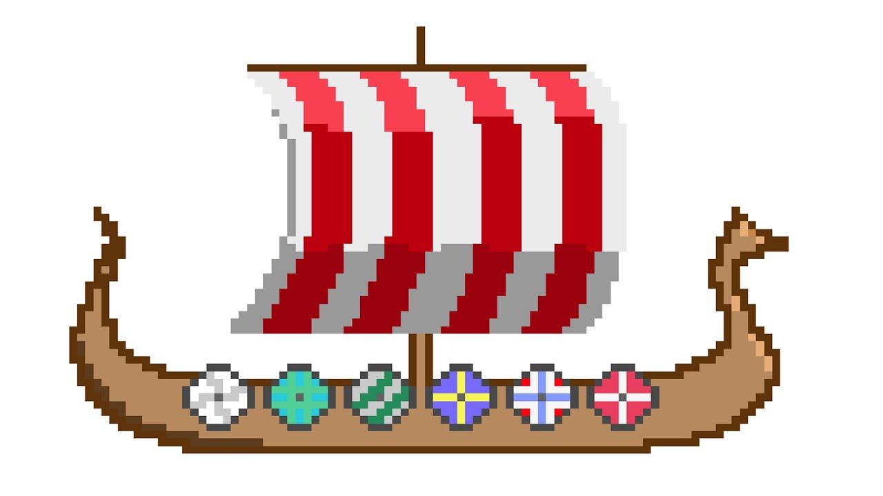 viking ship speed art youtube