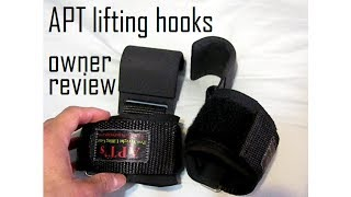 APT Steel Lifting Hooks review and hooks vs straps