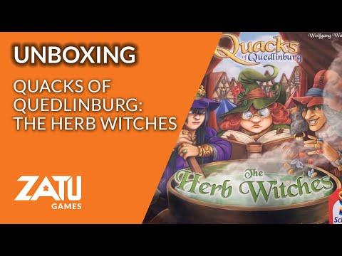 Quacks of Quedlinburg: The Herb Witches Unboxing