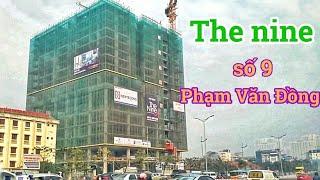 Tiến độ dự án chung cư số 9 Phạm Văn Đồng